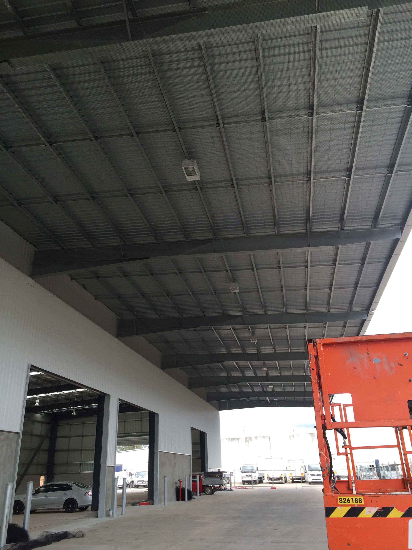Commercial bird proofing transport depot